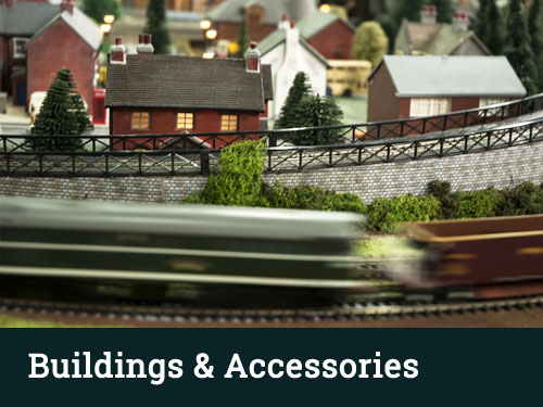 HO Scale Buildings Accessories