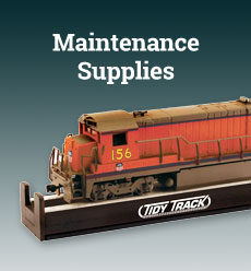 model railroad maintenance supplies