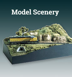 model railroading scenery