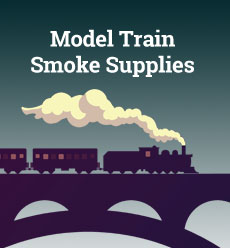 model train smoke supplies