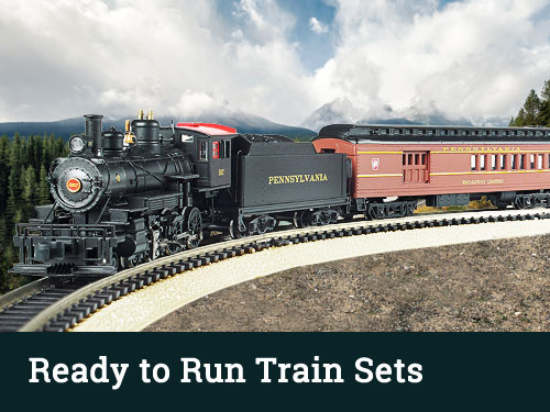 HO Scale Ready to Run Train Sets