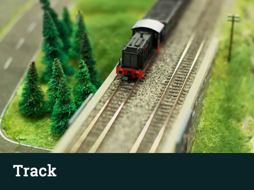 ho scale track switches signals accessories