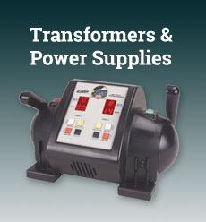 model train transformers power supplies