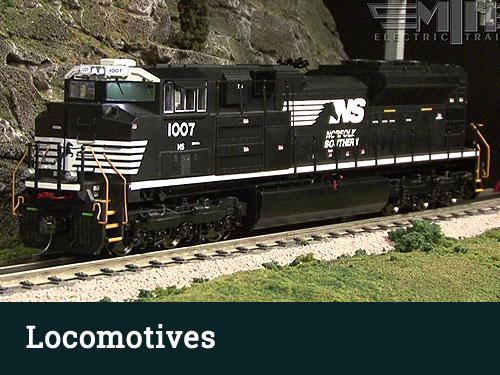 O Scale Model Train Locomotives