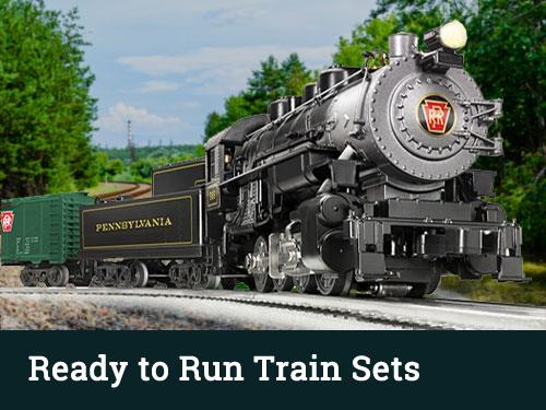 HO Scale Ready to Run Train Sets