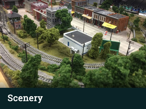 HO Scale Scenery Layouts